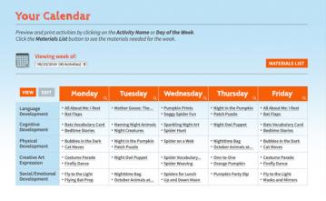 FSO calendar