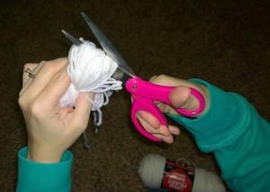 yarn balls step 4