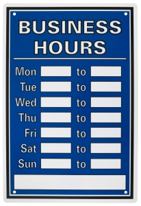policies-business hours