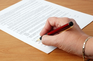 policies-signing contract