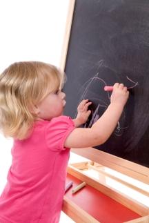 Early Literacy-chalk