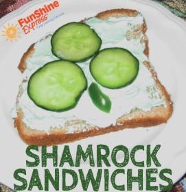 Shamrock-Sandwiches