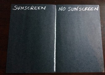 Sunscreen Experiment2