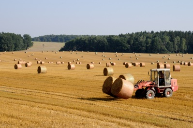 Harvest Tractor
